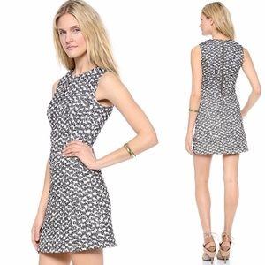 Diane Von Furstenberg Yvette Summer Tweed Dress